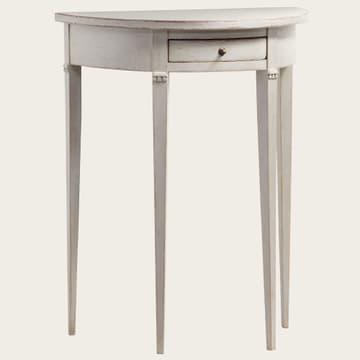 Small demi-lune table