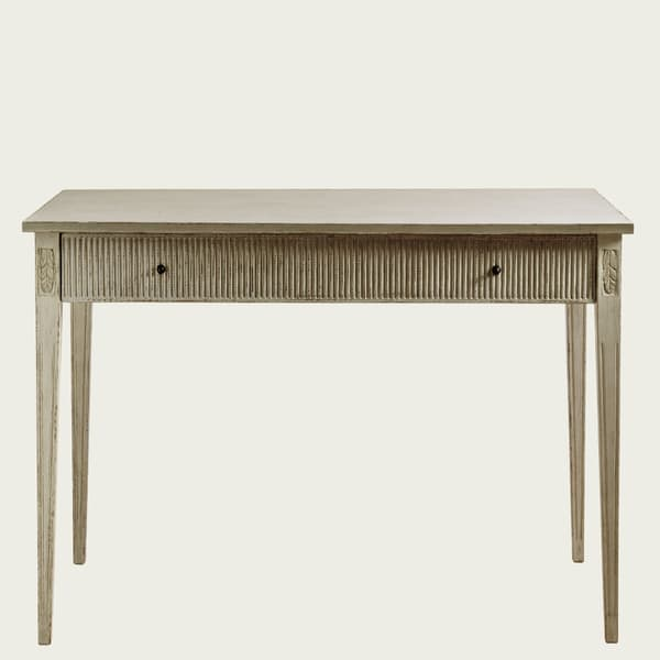 GUS071 A 08 – Writing desk with ribbed drawer
