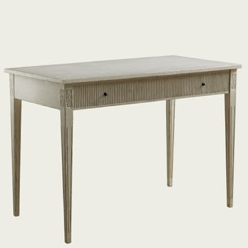 Writing desk with ribbed drawer