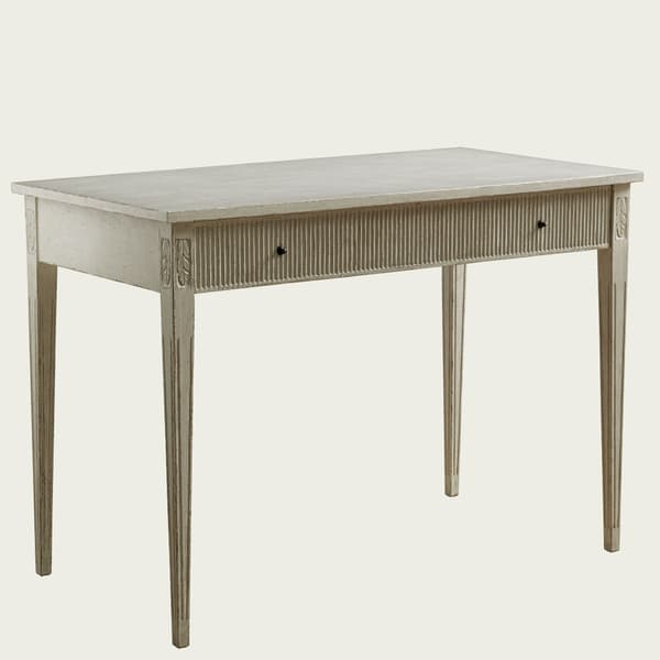 GUS071 A 08a – Writing desk with ribbed drawer