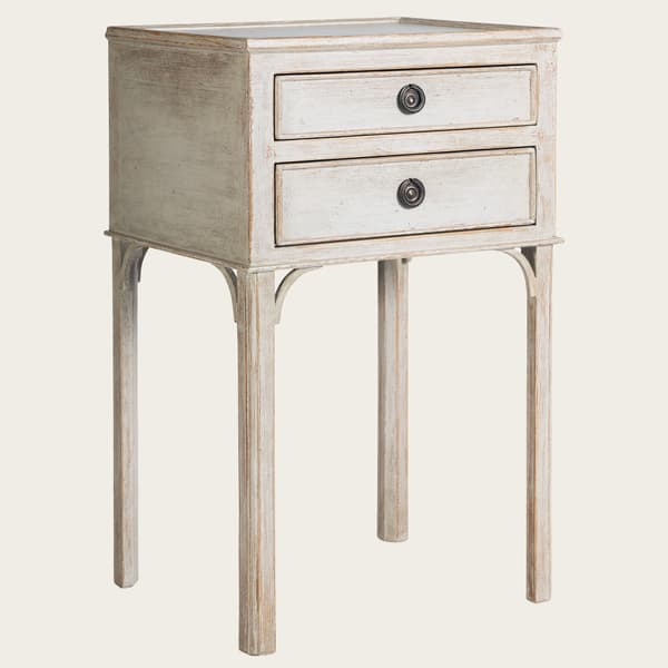 Gus 031 08 02 – Bedside table with two drawers