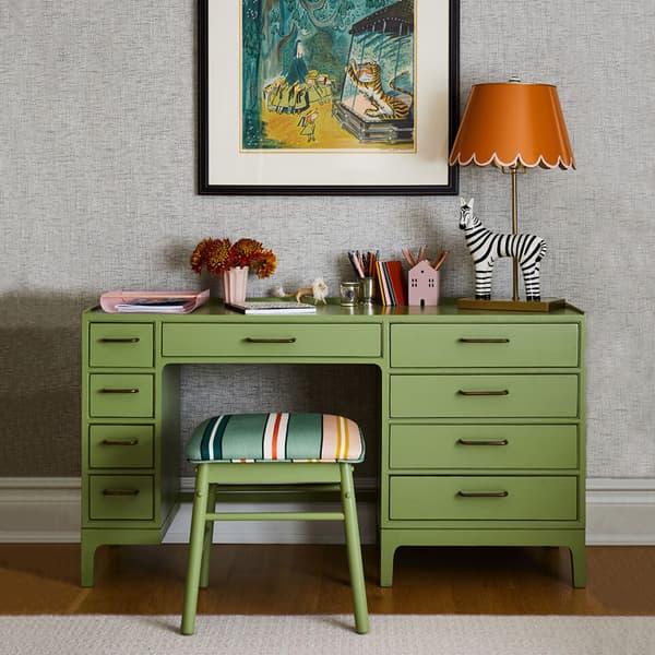 Little Girl s Room Inspired Madeline domino MID971 AJ chelsea textiles – Junior modular desk with nine drawers
