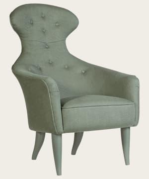 Armchair with high back