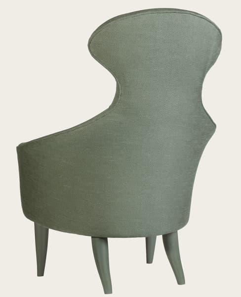 Mid029 14Ba Cheverny – Armchair with high back