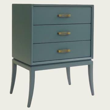 Large bedside table w/ slit handles