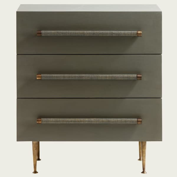 MID046 A 13 – Small chest of drawers with wicker handles