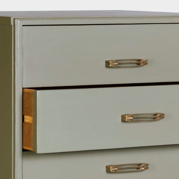 Mid056 13Ao – Tall chest of drawers with slit handles
