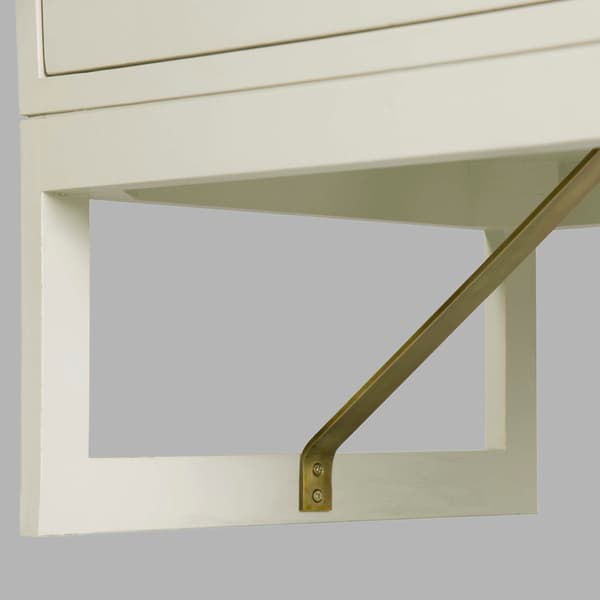 Mid057 B 11 D V1 – Bedside table with round pulls