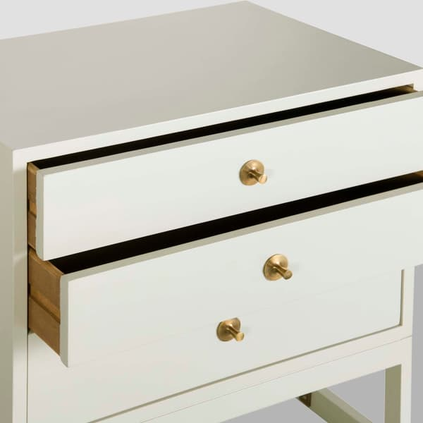 Mid057 B 11 D V5 – Bedside table with round pulls