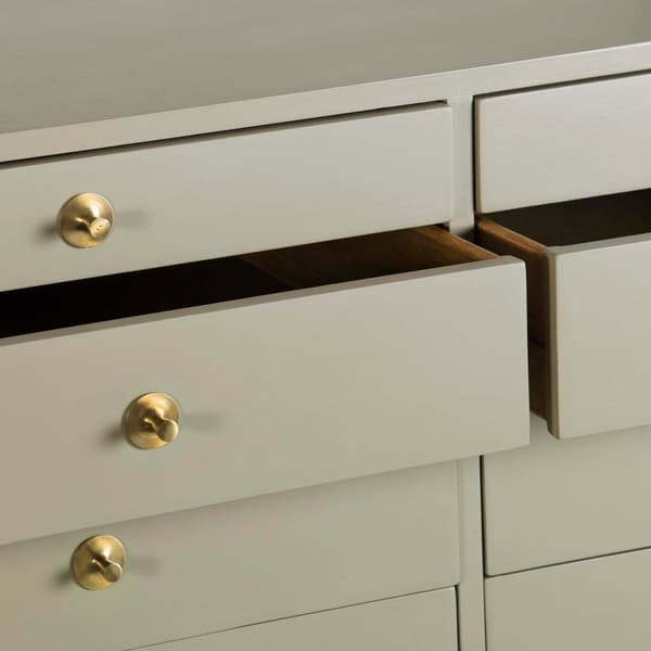 Mid057 12 D V4 – Large chest of drawers with round pulls