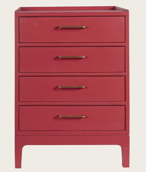 Mid931 J 48 – Junior modular bedside table with four drawers