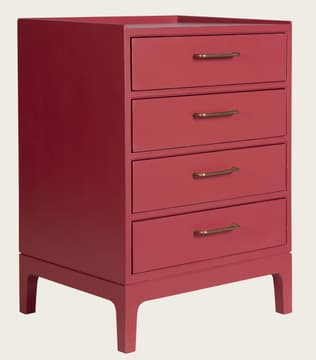 Junior modular bedside table with four drawers