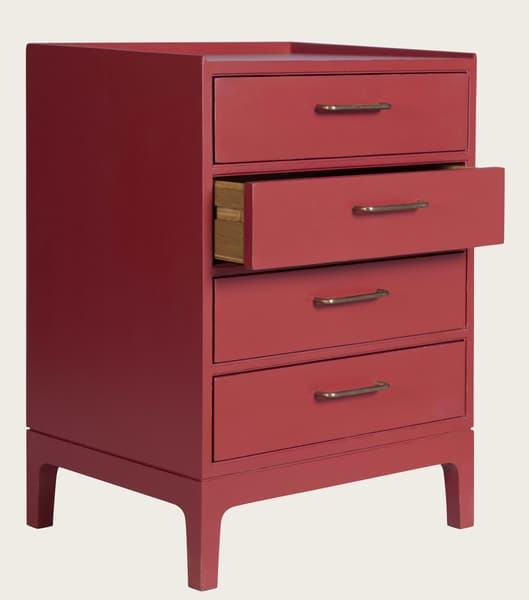 Mid931 J 48Ao – Junior modular bedside table with four drawers
