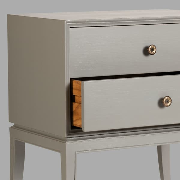 Mid 033 19 03 – Bedside table with two drawers