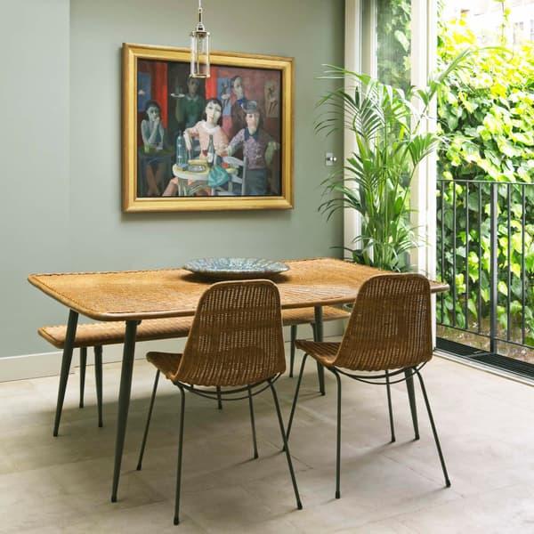 Rattan Table And Chair Tropical Furniture Set V2 – Rattan chair