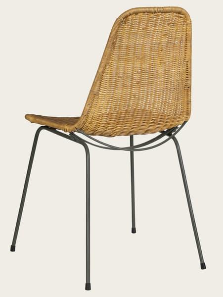 Tro010Ba – Rattan chair
