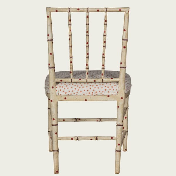 TRO026 38 R back – Faux Bamboo chair