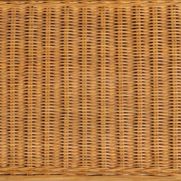 Tro060 D V2 – Rattan long bench