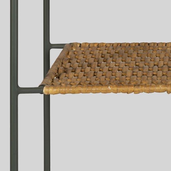 Tro081 D V2 – Rattan & wood sofa table