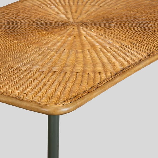 Tro103 D V3 – Rattan dining table