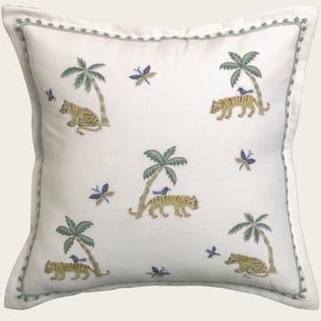 Tiger & palm tree