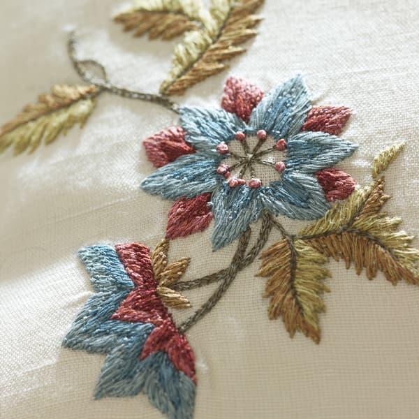 C396V1 1 – Fleur du jardin in deep blue/gold
