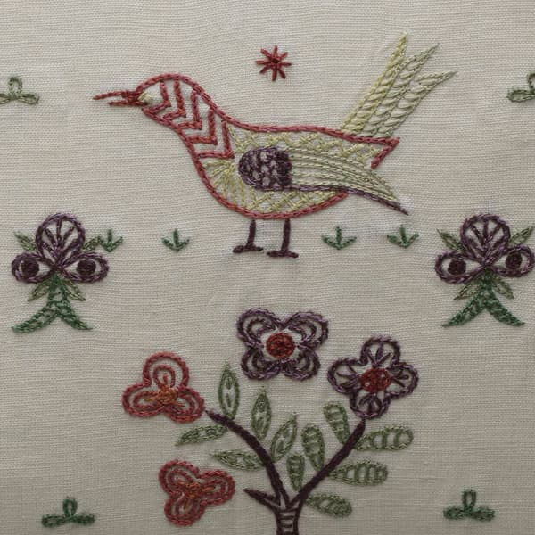 C450 Detail – Partridge in a pear tree