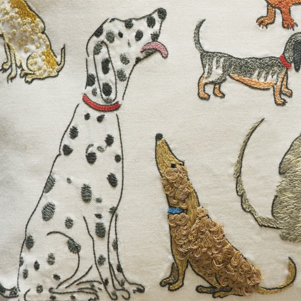 718 Detail – Dogs socialising