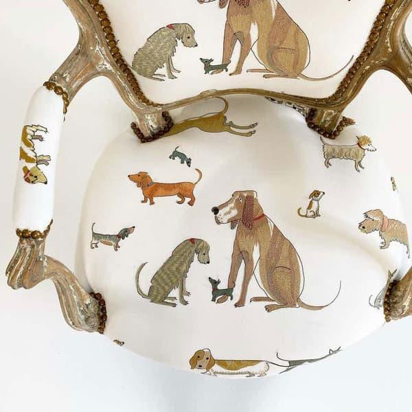 Dogs socialising chelsea textiles domenica more gordon 01 – Dogs socialising