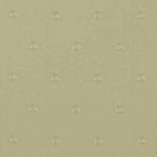 F268 WH – Napoleon bees off White on Hemp