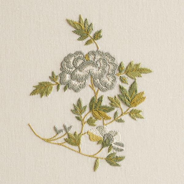 F462 V2 – Dianthus and Dhalia sprig