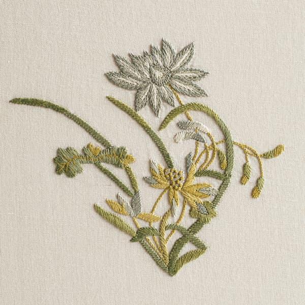 F462 V3 – Dianthus and Dhalia sprig