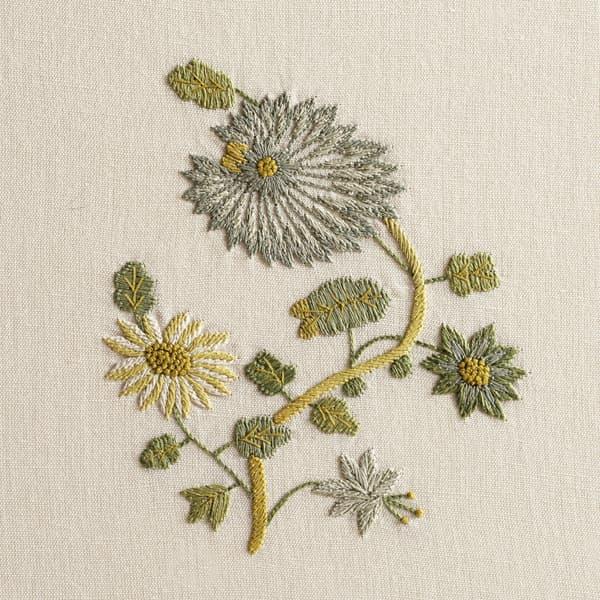 F462 V5 – Dianthus and Dhalia sprig