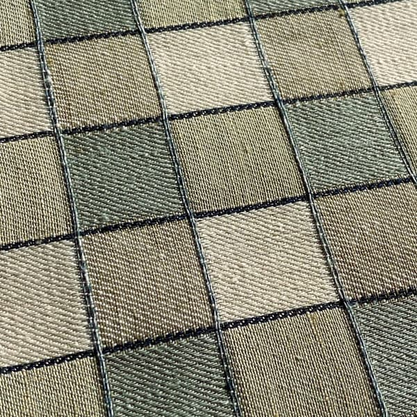 FCL100 02 Detail – Alma Check in Seamist and Moss