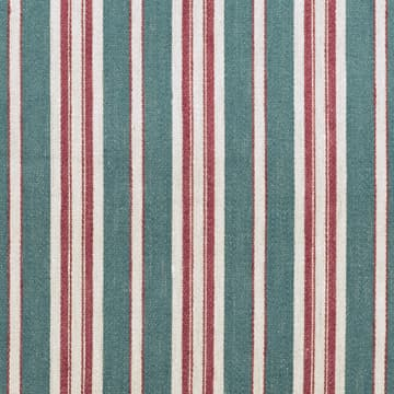 Marcel Stripe in Antique Blue & Raspberry