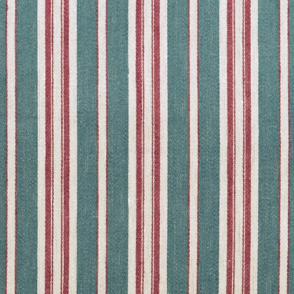 FTS100 03 – Marcel Stripe in Antique Blue & Rust