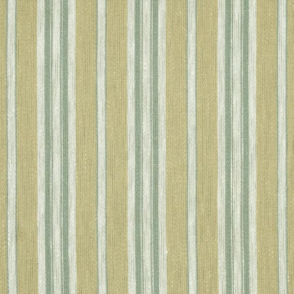 FTS100 08 – Marcel Stripe in Faded Yellow & Seamist