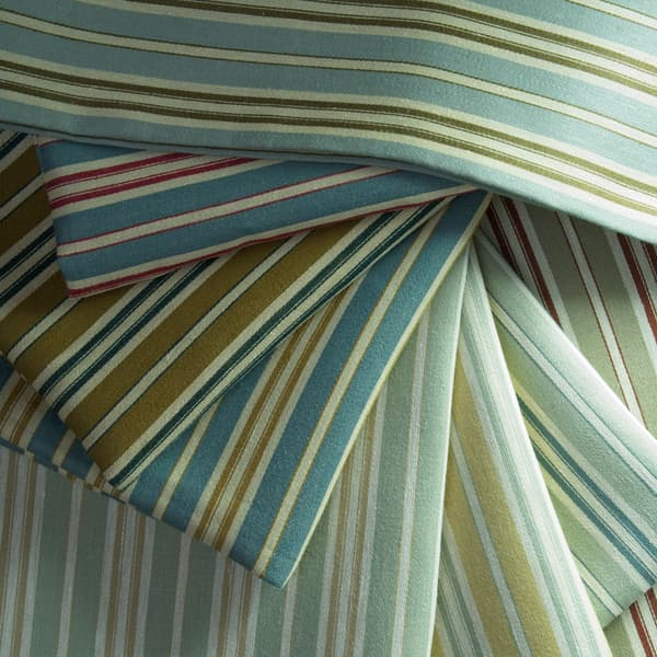 FTS100 Mix – Marcel Stripe in Faded Yellow & Seamist