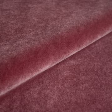 Mohair Velvet in amaranth