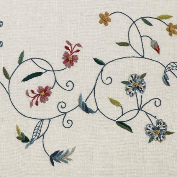 B119 Detail – Forget-me-not & carnation vine