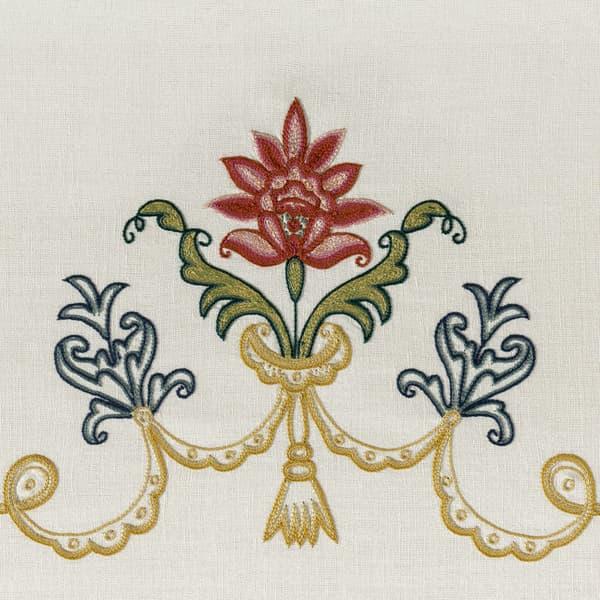 B211 Detail – Daffodils & bluebells