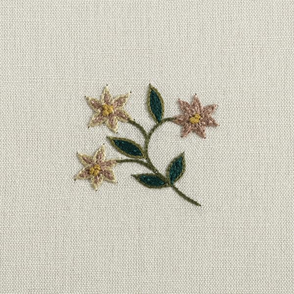 F124 Detail – Forget-me-not sprig