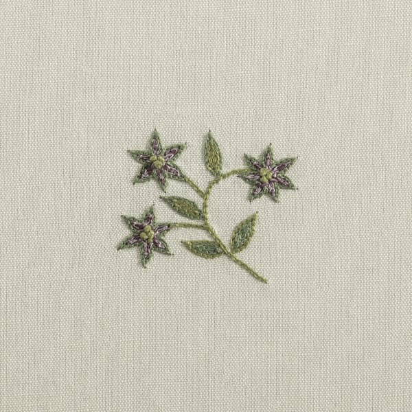 F124 M Detail – Forget-me-not sprig