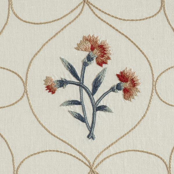 F316 Detail – Meadow flowers trellis