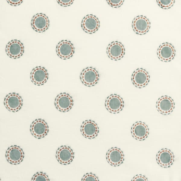 Fp3201 Sr – Dots in seafoam with dashes in seafoam/rust
