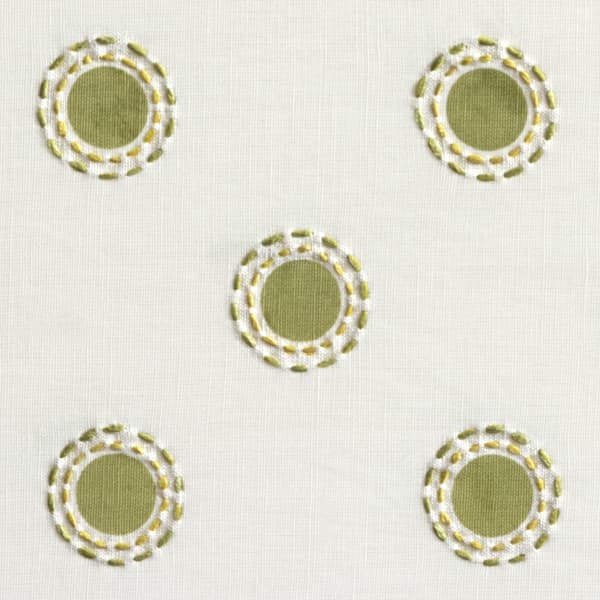 Fp3202 Ly Detail – Dots in lime with dashes in lime/gold