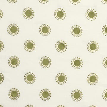 Dots in lime with dashes in lime/gold