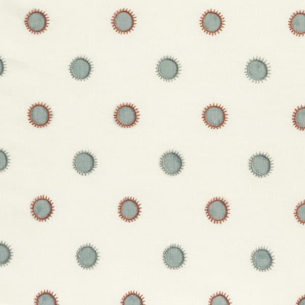 Fp3301 Sr – Dots in seafoam with sun in seafoam/rust