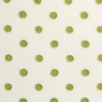 Dots in lime with sun in lime/yellow