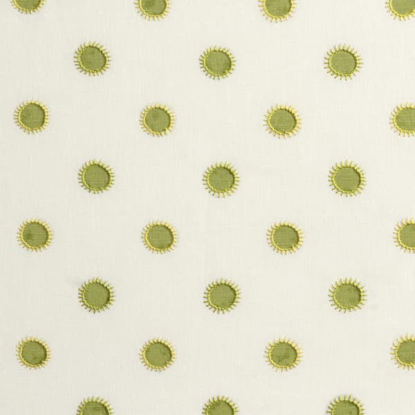 Fp3202 Ly – Dots in lime with sun in lime/yellow